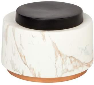 Motley Ceramic Storage Jar Jar Height: Short