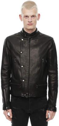 Diesel Black Gold Diesel Leather jackets BGPDN - Black - 46