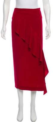 Strateas Carlucci Midi Orchid Skirt
