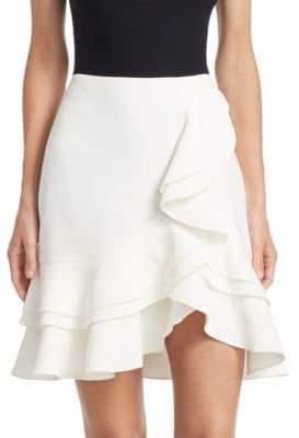 Proenza Schouler Short Ruffle Skirt