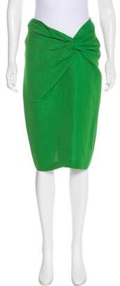 Cédric Charlier Knee-Length Pencil Skirt