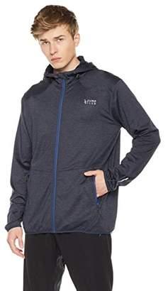 Jump Club Men's Zip up Fleece Athletic Hoodie with Zipper Pockets
