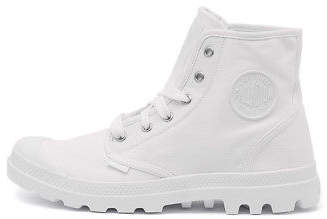 Palladium New Pampa Hi White Canvas White White Mens Shoes Casual Boots Ankle
