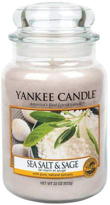 Yankee Candle Large Jar Candle – Sea Salt And Sage