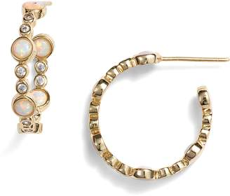 Melinda Maria Allison Hoop Earrings