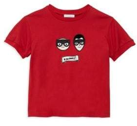 Dolce & Gabbana Toddler's& Little Boy's Cotton Patch Tee