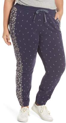 Lucky Brand Floral Joggers