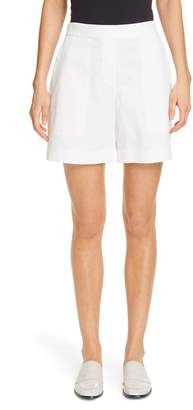 Lafayette 148 New York Fulton Cotton Shorts