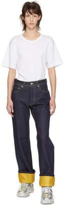Acne Studios Blue Contrast Jeans