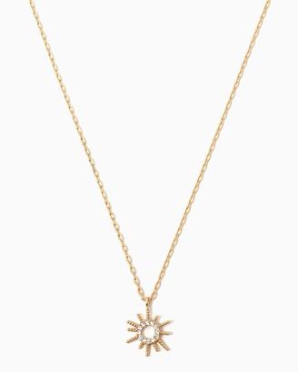 Twinkling Sun Necklace $8 thestylecure.com