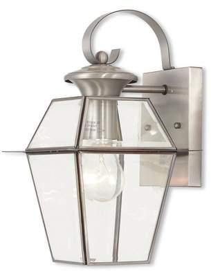 Three Posts Orchard Lane 1-Light Outdoor Wall Lantern