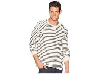 Lucky Brand Thermal Stripe Tee