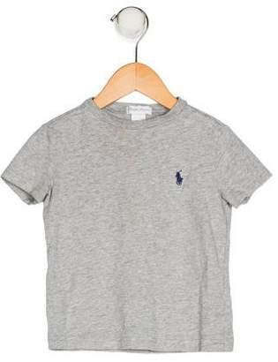 Ralph Lauren Boys' Embroidered Knit Shirt
