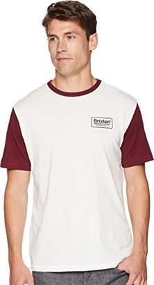 Brixton Men's Palmer Standard FIT Short Sleeve Knit TEE