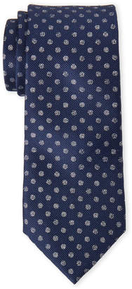 MICHAEL Michael Kors Navy Speckled Dot Silk Tie