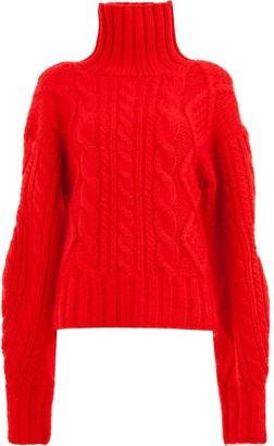 Aalto cable-knit jumper