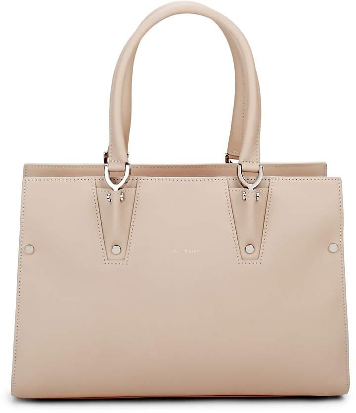 Longchamp Women's Paris Premiere Leather Handbag - IVORY - STYLE