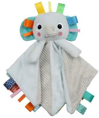 N. Bright Starts Cuddle 'n Tags 2-sided Lovie - Elephant