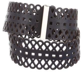 Tory Burch Leather Waist Belt