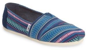 Women's Toms Stripe Alpargata Slip-On $54.95 thestylecure.com