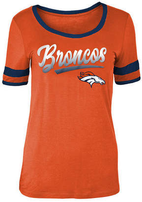 5th & Ocean Women's Denver Broncos Rayon Scoop T-Shirt