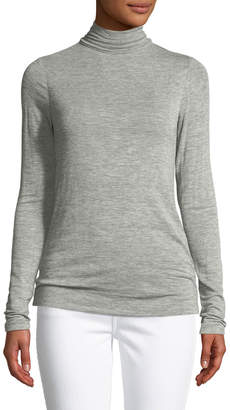 Halston Long-Sleeve Turtleneck Sweater