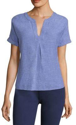 Vineyard Vines Dolman Linen Top $88 thestylecure.com