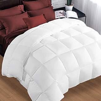 Queen Comforter Soft Summer Cooling Goose Down Alternative Duvet Insert 2100 Hypoallergenic Quilt with Corner Tab for all Season
