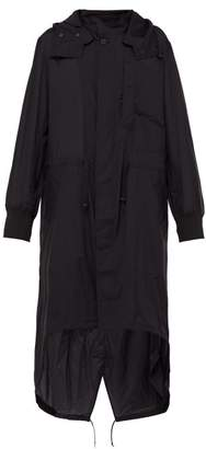 Y-3 Y 3 Fishtail Technical Parka - Mens - Black