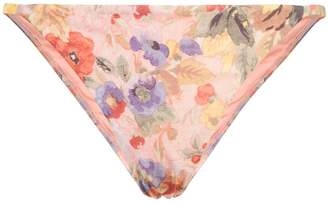 Zimmermann deep V-neck floral bikini