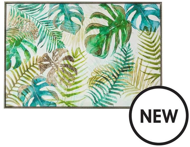 Tropical Palms Framed Wall Art