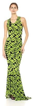 Norma Kamali Women's Racer Fishtail Gown