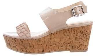 Calvin Klein Collection Lorianne Wedge Sandals