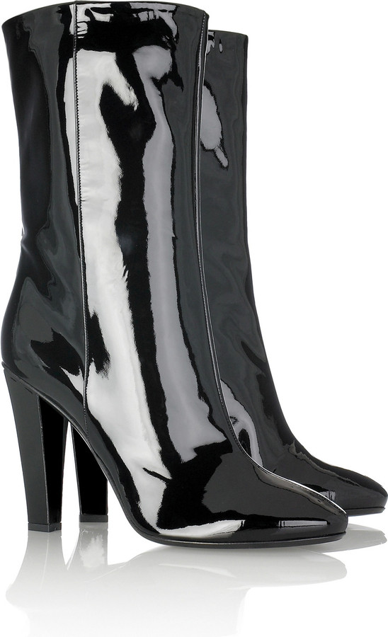 Jimmy Choo Hit patent ankle boots