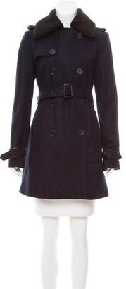 MICHAEL Michael Kors Wool Knee-Length Coat