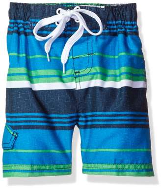 Kanu Surf Little Boys' Porta Stripe Swim Trunk