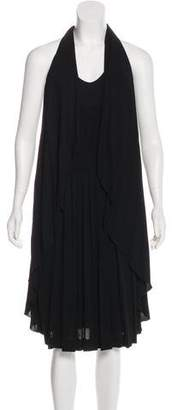 Chanel Ruffled Sleeveless Dress w/ Tags