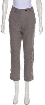 Ann Demeulemeester Mid-Rise Straight-Leg Pants