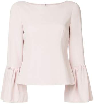 Tibi ruffled sleeves top