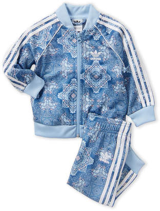 adidas Infant Girls) Culture Clash Track Jacket & Pants Set