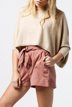 Cropped Cashmere Sweater $259 thestylecure.com