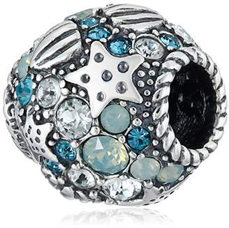 Swarovski Chamilia Sterling Silver and Buried Treasure Bead Charm