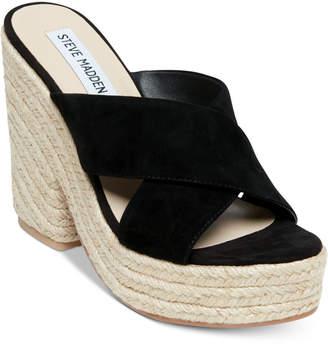 Steve Madden Women's Damsel Wedge Sandals