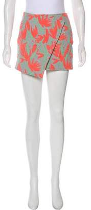Kenzo Patterned Mini Skirt