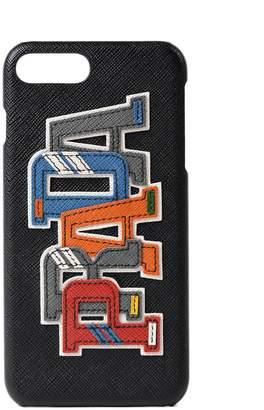Prada Iphone 7 Plus Logo Cover