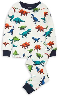 Hatley Little Boy's Boy's 2-Piece Dinosaur-Print Cotton Pyjama Set