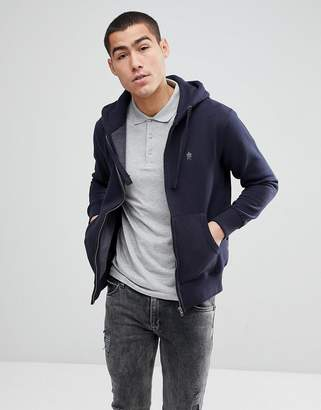 French Connection Zip Through Hoodie