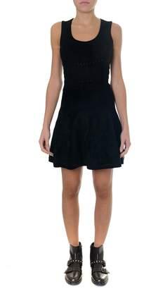 DSQUARED2 Black Viscose Short Dress