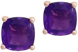 Effy Amethyst and Rose Gold Earrings