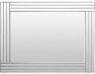 "Art of Knot Tyrell 24"" x 36"" Framed Mirror"